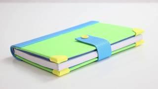 Cómo decorar libretas con goma EVA  | Cuadernos forrados con foamy | vuelta al cole