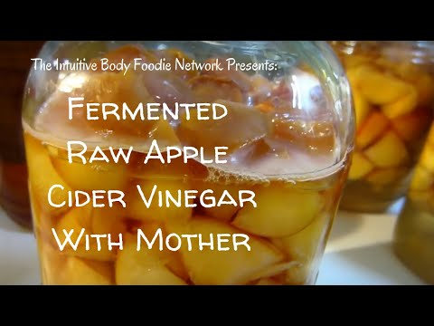 Fermented Raw Apple Cider Vinegar with Mother