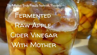 🍎🍏 Fermented Raw Apple Cider Vinegar with Mother 🍏🍎