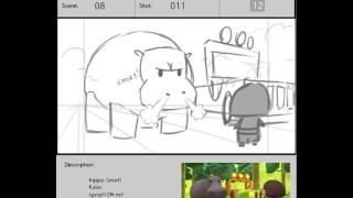 Leo the Wildlife Ranger - Storyboards