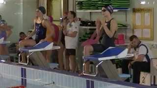 Плавание. 100 м, баттерфляй, девушки. ДЮСШ Самбо-70 Ясенево г.Москва