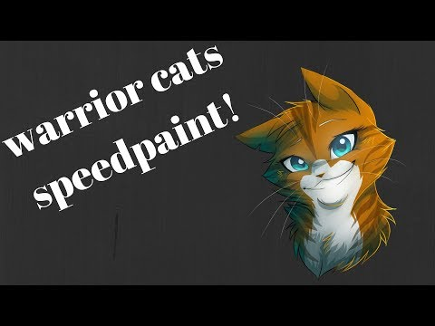 Warrior Cat Speed Drawing-Died Right In From of Us...