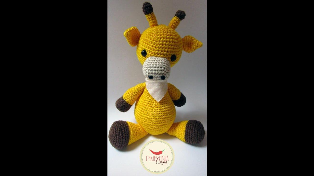 Belas Artes Crochê e Cia: Girafa Amigurumi - Receita | 720x1280