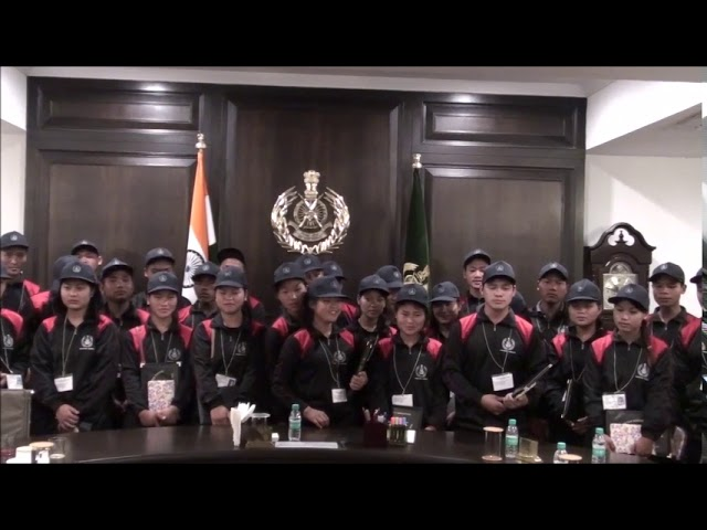 ITBP sponsored excursion tour from Teju Arunachal. A Mishmi song sung by the group at Force HQ.