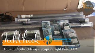 TechCheck: Aquarium Beleuchtung Scaping Light LED und Wasserkühlung vom Aquarienkontor