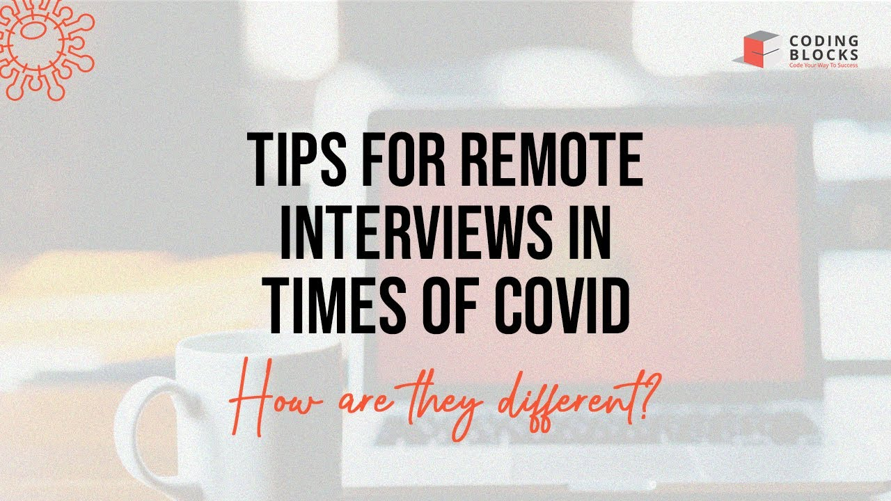 Interview and Recruiting in Times of COVID-19 Pandemic | How Big Tech Companies are doing It?