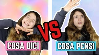 COSA DICI VS COSA PENSI || Valeria Vedovatti