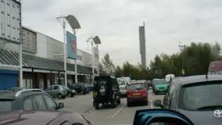 Regent road  retail park , Salford, Manchester , north England
