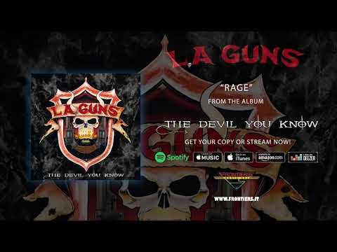 "L.A. Guns - ""Rage"" (Official Audio) #RockAintDead Mp3"