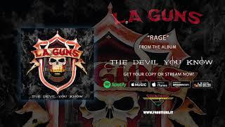 """L.A. Guns – """"Rage"""" (Official Audio) #RockAintDead"""