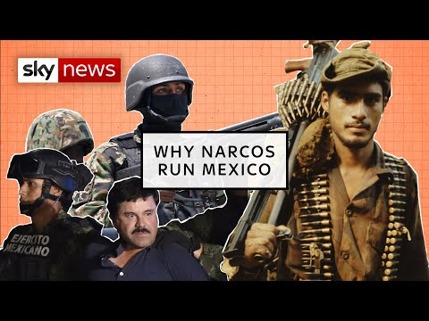 How did Narcos take control of Mexico?