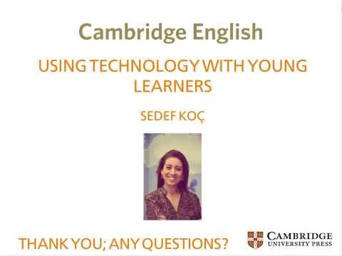 iUse Technology -- Tips for integrating and managing technology with young learners - Sedef Koç