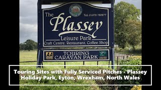 Touring Sites with Fully Serviced Pitches - Plassey Holiday Park, Eyton, Wrexham, North Wales