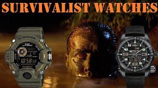 Top 10 Survival Tactical Outdoor watches