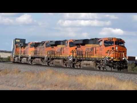 New Mexico Railfanning - September 2015