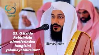 Rahman Suresi 1 45 Abdurrahman el Usi