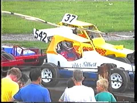 Bristol Stadium / Mendips RaceWay - Stock Car Banger Racing - 26th Aug 1990 - Part 1