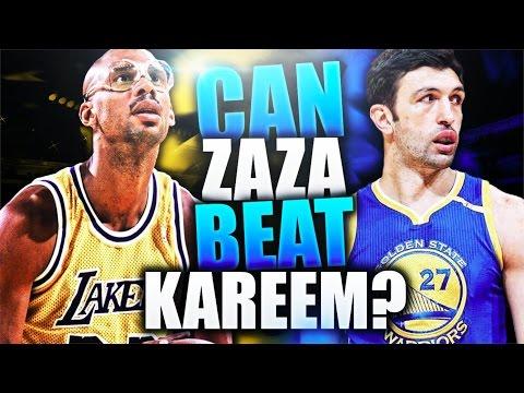 CAN ZAZA PACHULIA BEAT KAREEM ABDUL-JABBAR 1 V 1? NBA 2K17