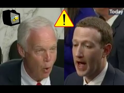 Mark Zuckerberg First DENIES Then ADMITS To Senator That Facebook Users Are Deleting Accounts!