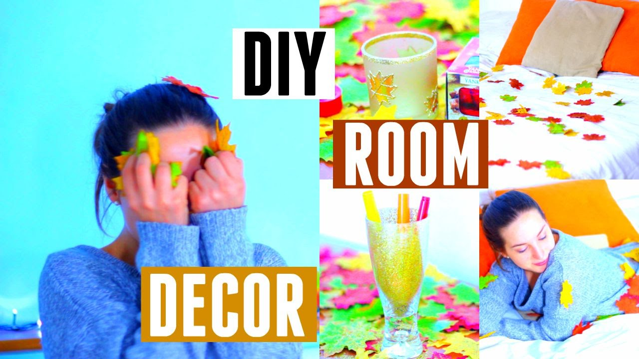 DIY Room Decor - Come Decorare La Stanza in modo Autunnale ...