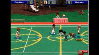 Backyard Basketball 2004 NBA Finals Golden State Warriors VS Cleveland Cavaliers