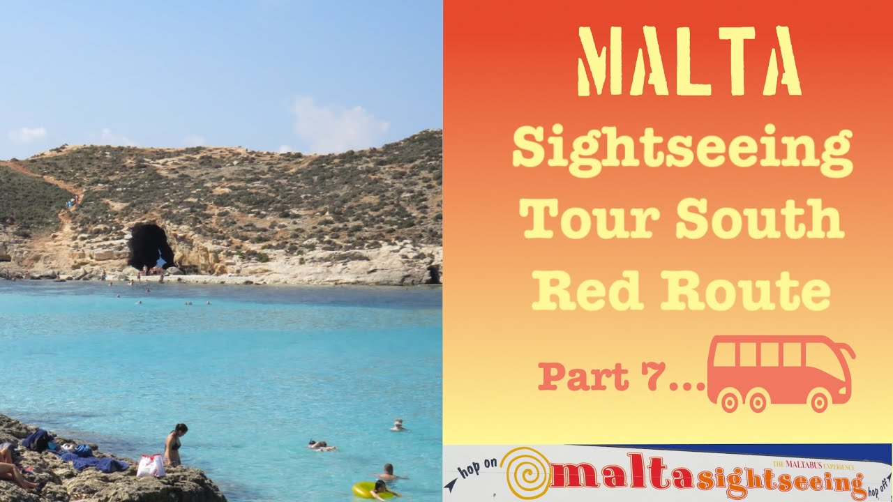 Malta Sight Seeing Tour South Red Route Part 7 Malta Travel Video