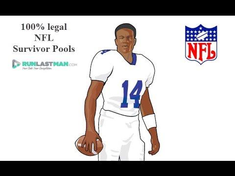 Run A NFL Survivor Pool On RunLastMan.com