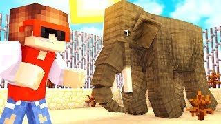 Животные приключения | Выживание в майнкрафт с модами #1 ( Нападение слона )