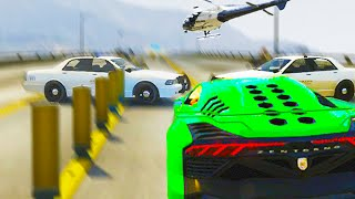 Insane Police Chase (GTA 5 Funny Moments)