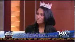 Indian-American Miss America Nina Davuluri Brushes Off Racism Directed at Her - Fox News - 9/18/13