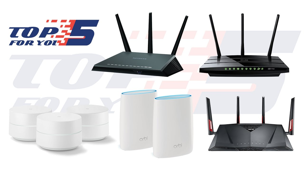 Top 5 Best Wifi Routers For Home Use 2017 2018 Youtube