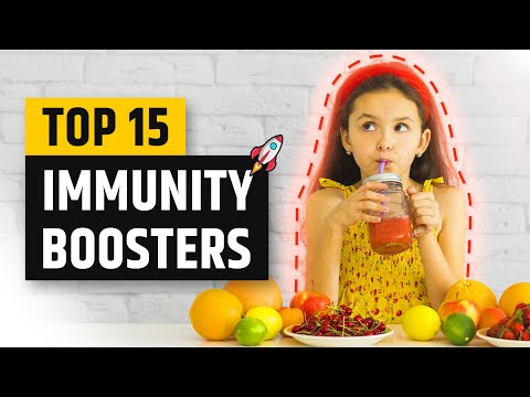 Top 15 Immunity Boosting Foods | How To Boost Immunity | Immunity Booster