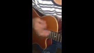 Nỗi đau nhẹ nhàng guitar