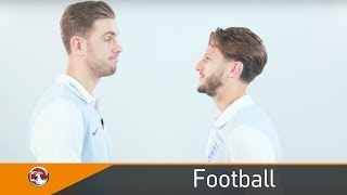 Adam Lallana and Jordan Henderson take on the ultimate Dad Joke Face Off | Father's Day | Vauxhall