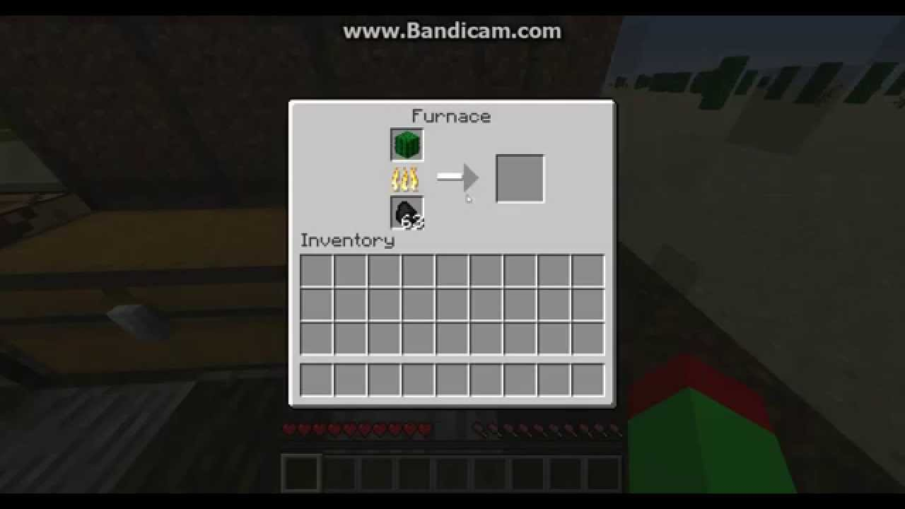 How To Craft Cactus Green Dye In Minecraft