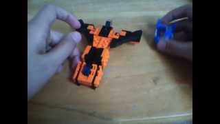 LEGO Transformers Sunstorm [War For Cybertron]