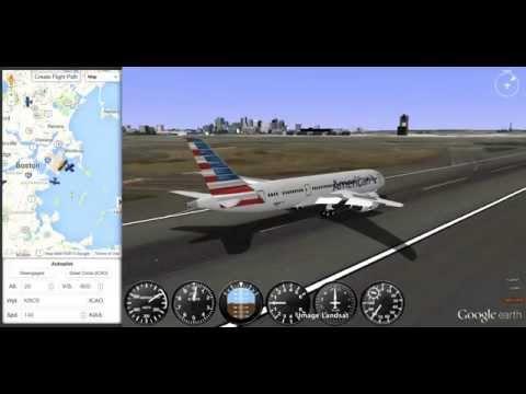 GEFS Online - Boeing 787-8 ILS CAT III Landing - YouTube
