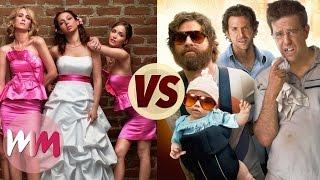 Bridesmaids VS The Hangover