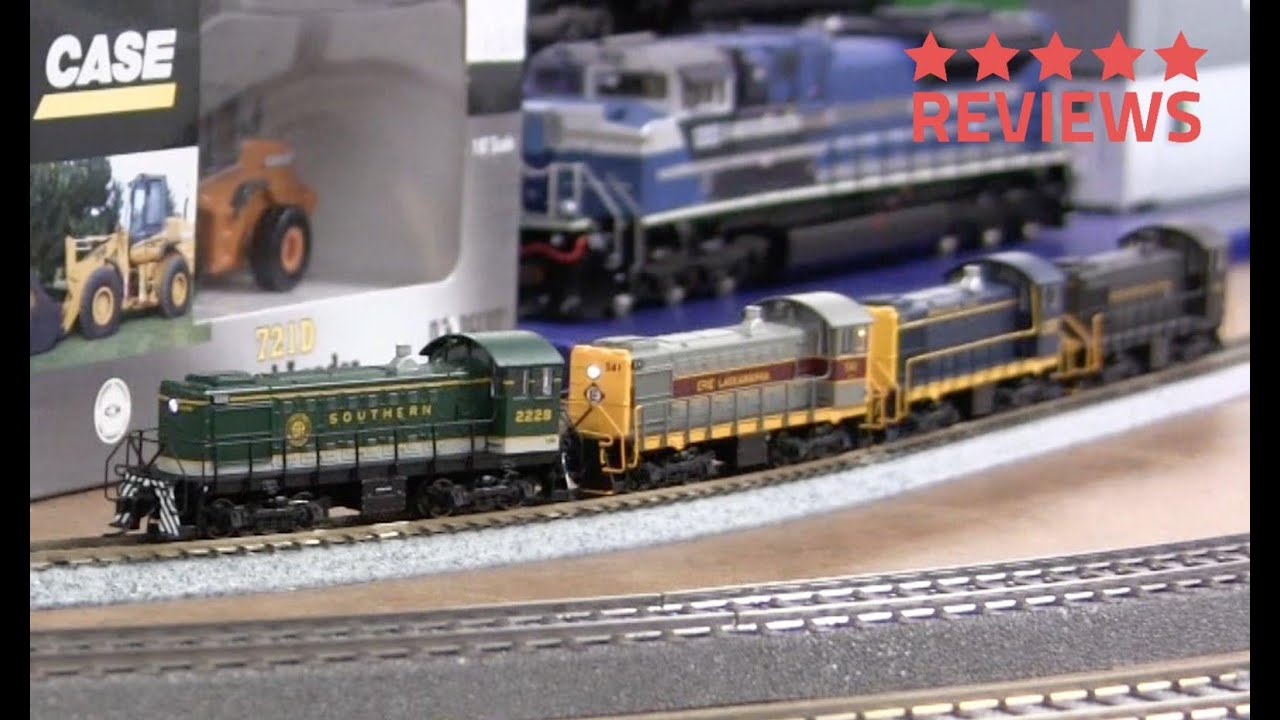Atlas N Scale S 2 Locomotive With Sound Youtube
