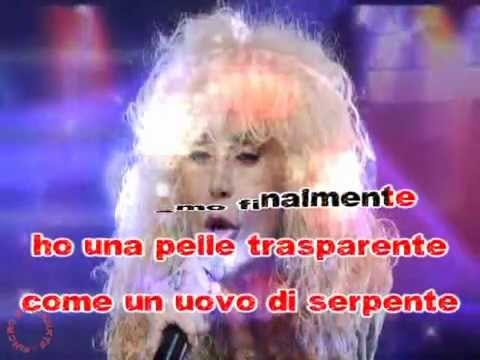 Donatella Rettore - Splendido splendente (karaoke - fair use)