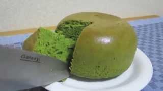 Matcha Rice-cooker Pancakes