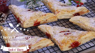 Fast and Easy Cherry Turnovers