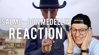 REACTION | Salmo - Don Medellin ft. Rose Villain (Prod. Andysixpm) | Damned