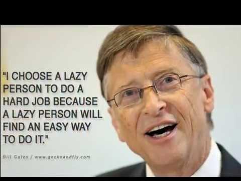 Motivational video Bill Gates, Steve Jobs, Mark Zukerburg.