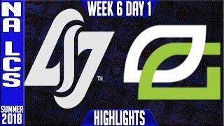 Video CLG vs OPT Highlights   NA LCS Summer 2018 Week 6 Day 1   Counter Logic Optic Gaming vs Optic Gaming download MP3, 3GP, MP4, WEBM, AVI, FLV Agustus 2018