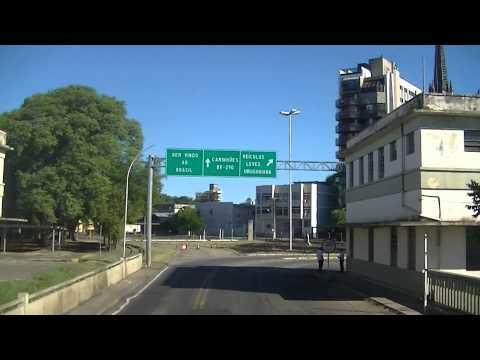 Cruzando la frontera bienvenidos a Brasil