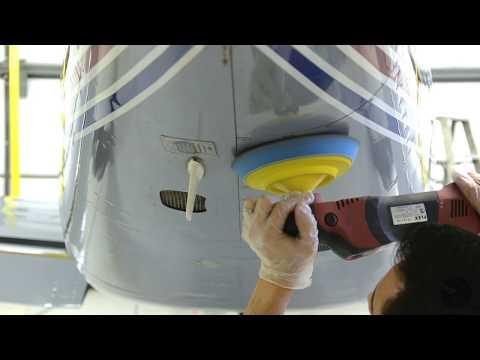 1989 Piper Malibu Paintless Restoration and Coating