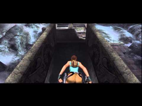 01. Tomb Raider Anniversary Walkthrough - Intro - Mountain Caves