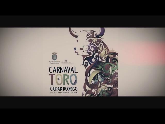 Carteles Toros Carnaval de Ciudad Rodrigo 2018