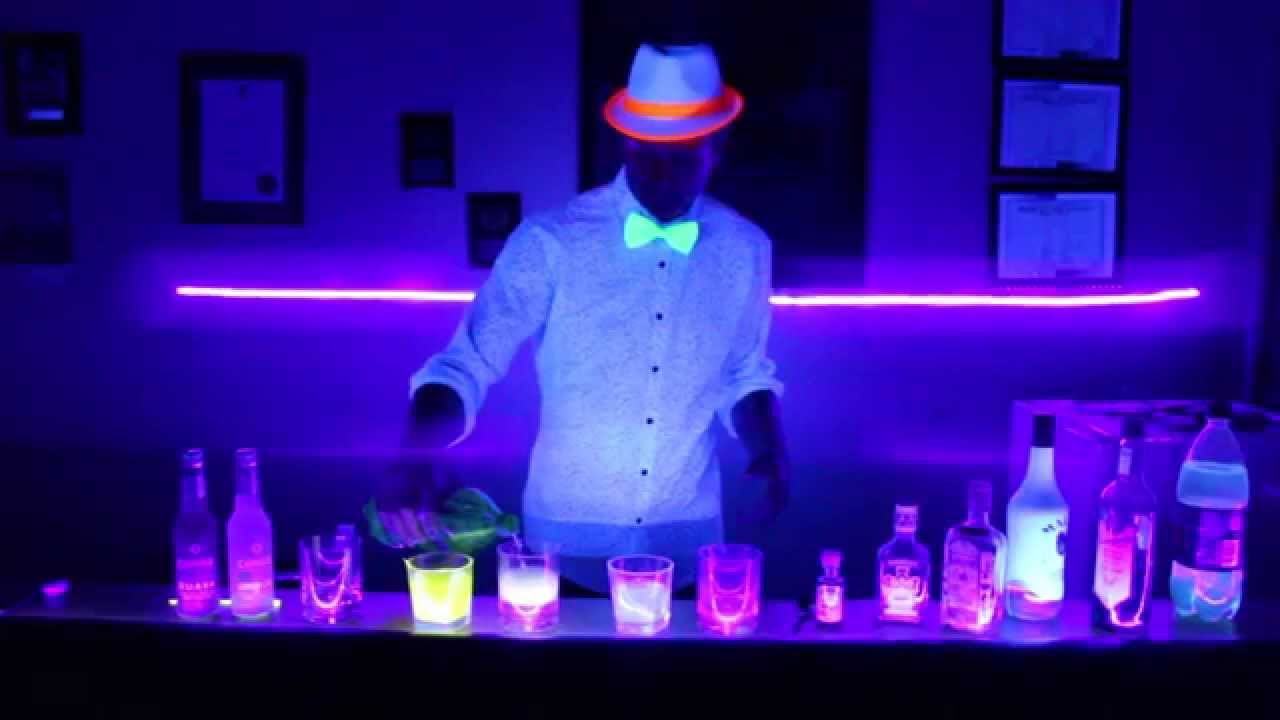 How To Make A Neon Drink